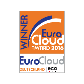 EuroCloud Germany Award 2016 Best Cloud Service for Horizontal Markets